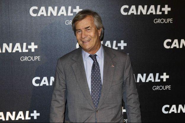 Vincent Bolloré Le patron de Canal+.