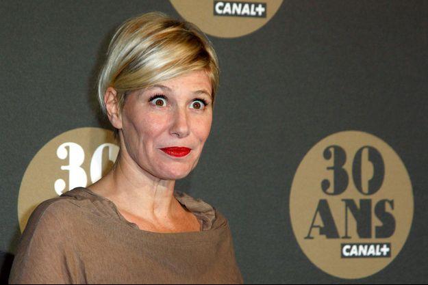 """Maïtena Biraden à la soirée des 30 ans de """"Canal+"""" au Palais de Tokyo"""