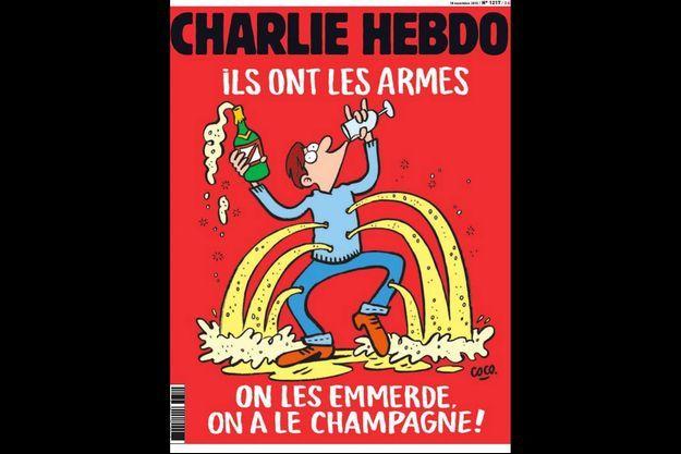 "La prochaine Une de ""Charlie Hebdo""."
