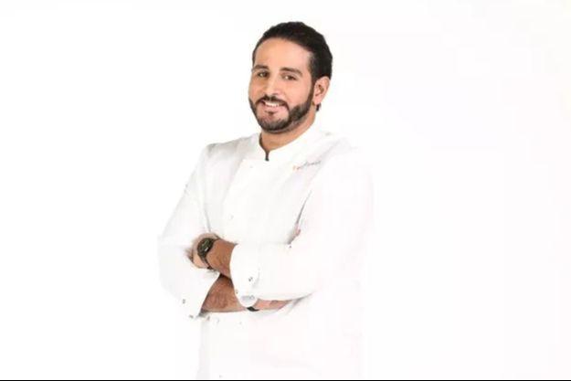 """Mohamed, vainqueur de la saison 12 de """"Top Chef""""."""