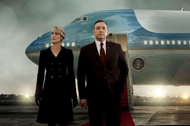 Frank et Claire Underwood (Kevin Spacey et Robin Wright) sont de retour depuis vendredi.