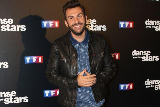 """Laurent Ournac au photocall de """"Danse Avec Les Stars"""", le 28 septembre 2016."""