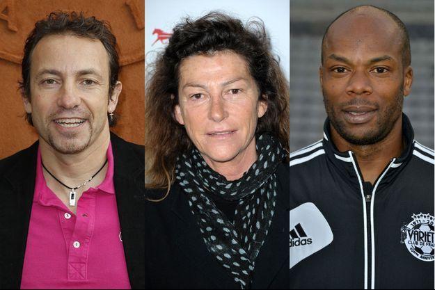 """Philippe Candeloro, Florence Arthaud et Sylvain Wiltord font partie des huit sportifs de l'aventure """"Dropped""""."""