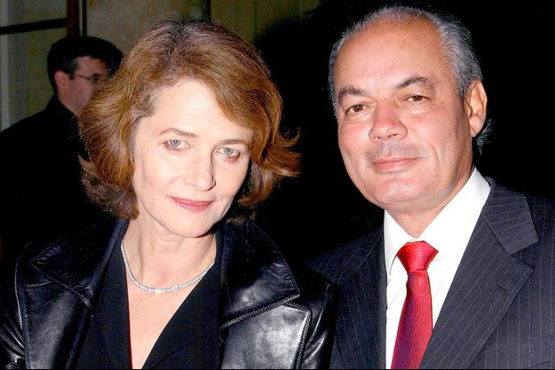 Charlotte Rampling et Jean-Noël Tassez.