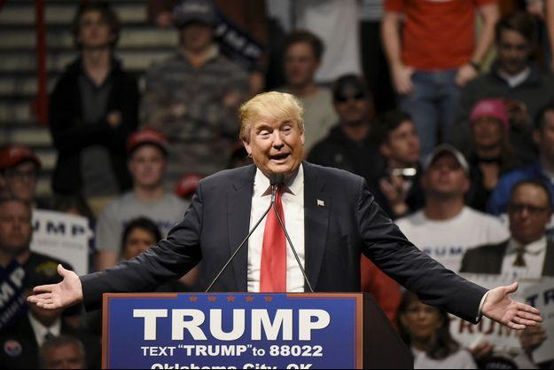 Donald Trump à Oklahoma City le 26 février.