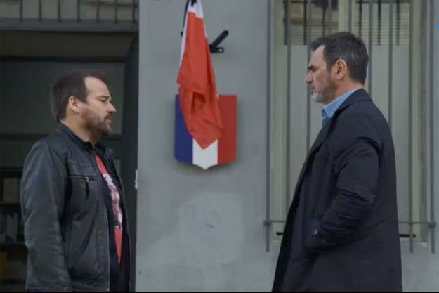 Jean-Paul Boher (Stéphane Henon) et Patrick Nebout (Jérôme Bertin).