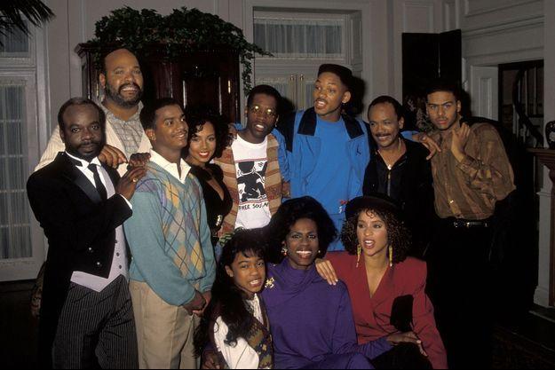 """Le casting du """"Prince de Bel-Air"""" en 1990."""