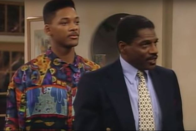 "John Wesley dans ""Le Prince de Bel-Air"" avec Will Smith."