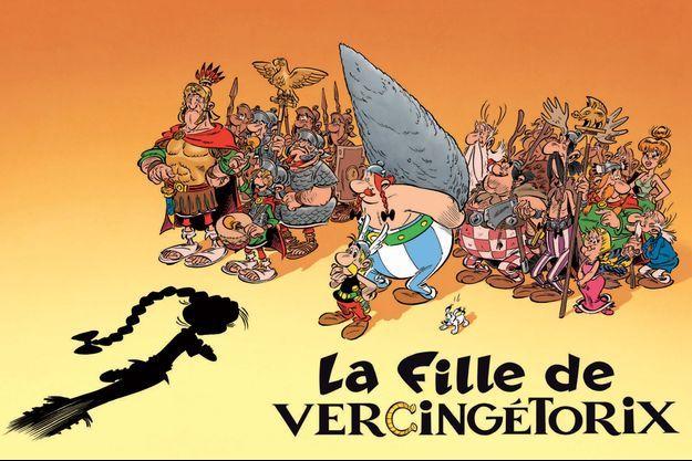 """Le 38e album des aventures d'Astérix aura pour titre """"La fille de Vercingétorix""""."""