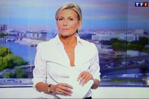 Claire Chazal a fait ses adieux au JT de TF1 dimanche.