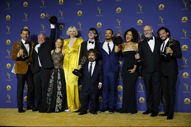 "Le casting de ""Game of Thrones"" en septembre 2018."