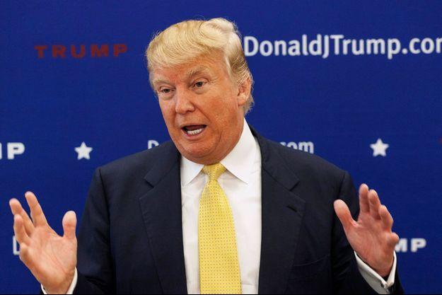 Donald Trump lors d'un meeting dans l'Iowa.