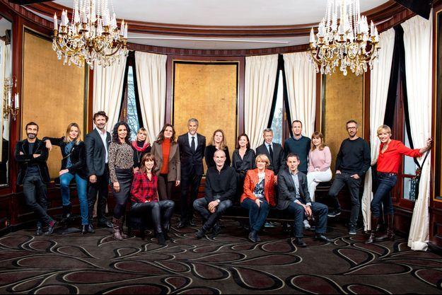 Le jury des Globes de cristal.