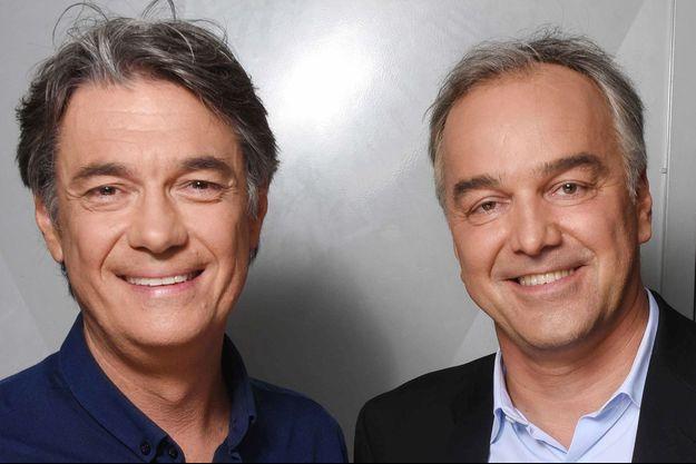 Alain Marschall et Olivier Truchot en 2018.