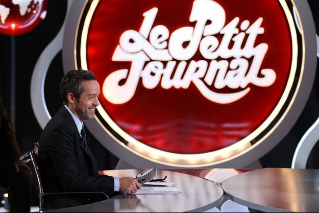 "Yann Barthès présente sa dernière du ""Petit Journal"" jeudi."