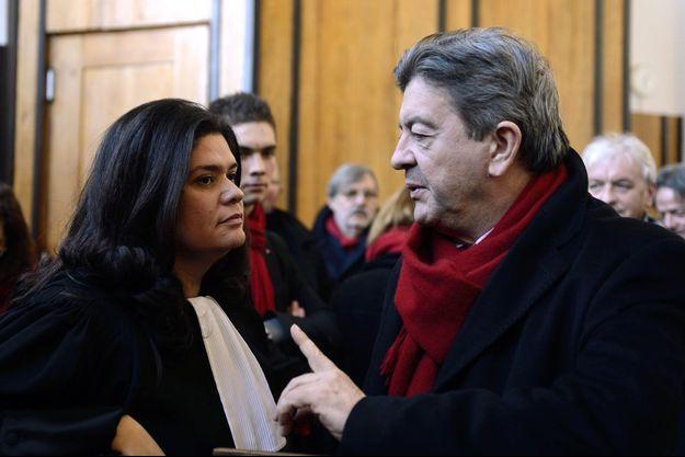 Raquel Garrido et Jean-Luc Mélenchon en 2013.