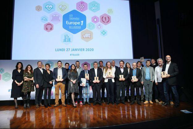 Les lauréats de la cinquième édition des Trophées de l'avenir d'Europe 1.