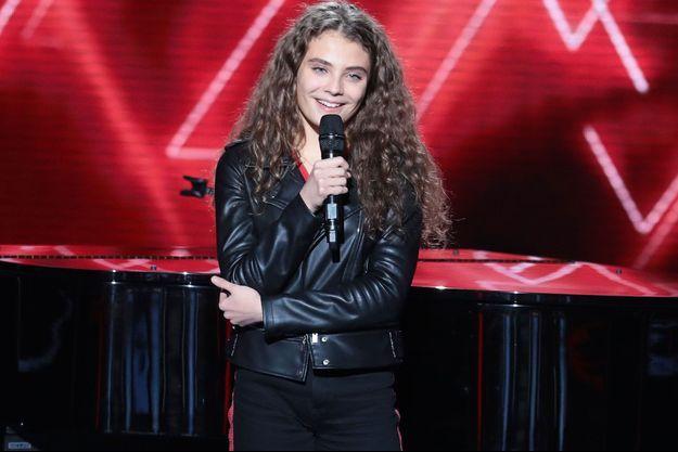 """Maëlle a remporté la saison 7 de """"The Voice"""" samedi."""
