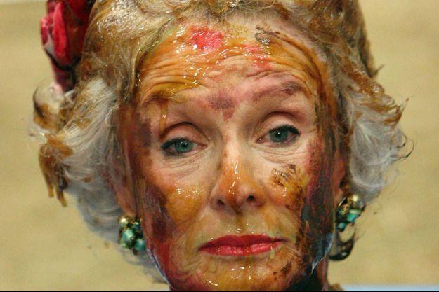 "Cloris Leachman dans ""Malcolm""."