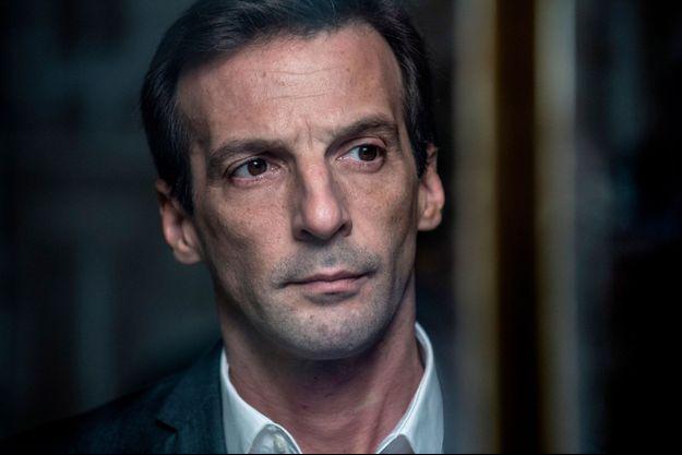 """Mathieu Kassovitz dans """"Le bureau des légendes""""."""