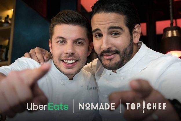 Matthias Marc et Mohamed Cheikh ont remporté l'épreuve de la guerre des restos, dans «Top Chef».