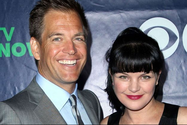 Michael Weatherly et Pauley Perrette en 2014
