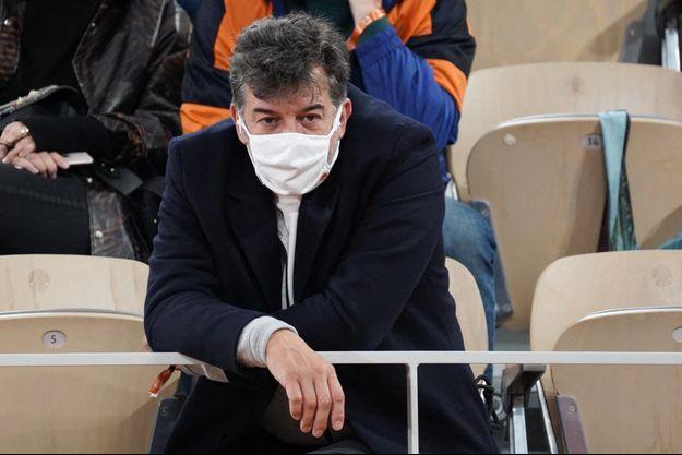 Stéphane Plaza en octobre dernier à Roland-Garros.