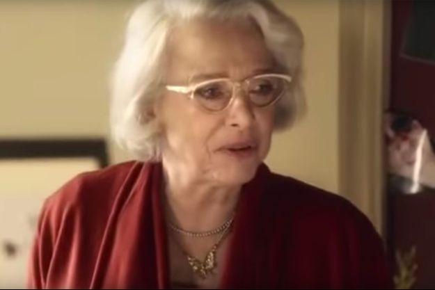 "L'actrice Chantal Garrigues dans ""Soda""."