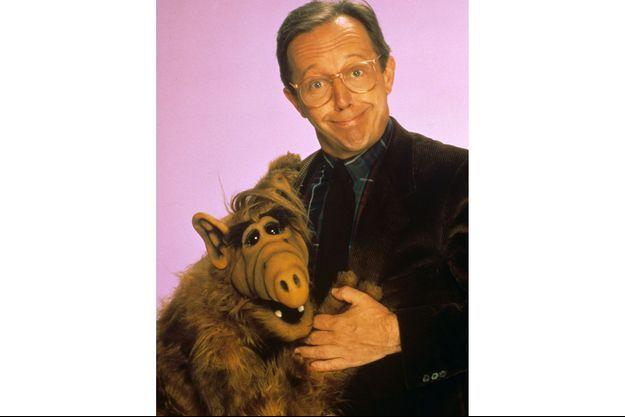 """Max Wright dans """"Alf""""."""