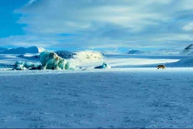 La totalité de l'archipel étant gelé neuf mois sur douze, la motoneige est l'unique moyen de rallier les endroits les plus reculés de ce territoire norvégien