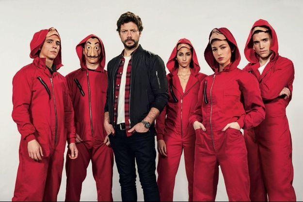 Casa de Papel, une série phare de Netflix.