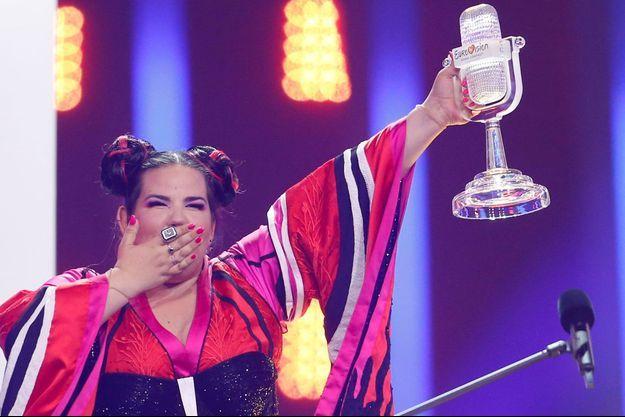 La chanteuse Netta a remporté l'Eurovision.