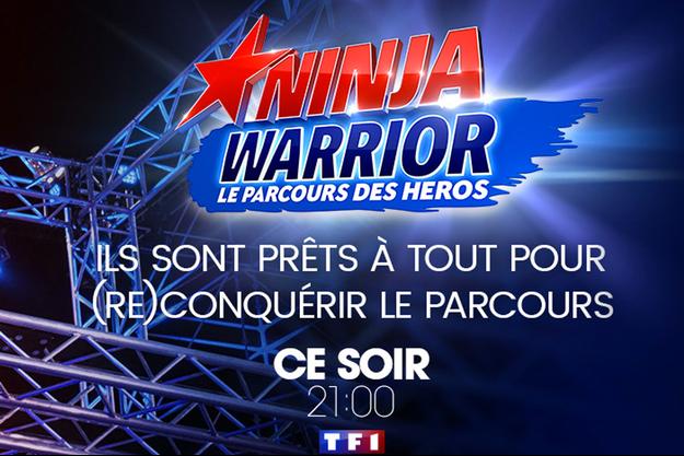 "Saison 2 de ""Ninja Warrior"", vendredi 23 juin sur TF1."