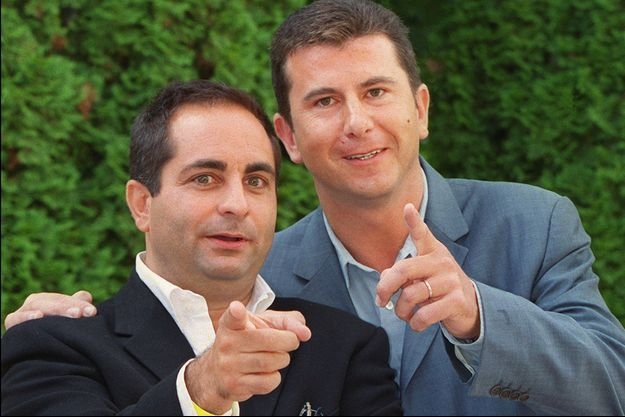 Laurent Fontaine et Pascal Bataille en 2001.