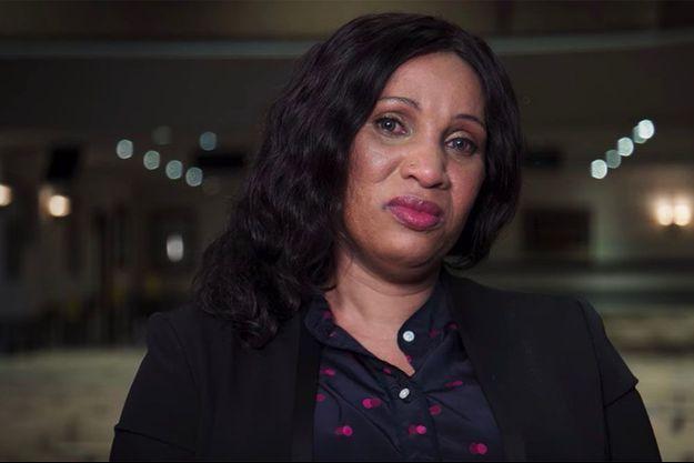 """Nafissatou Diallo dans la mini-série """"Chambre 2806 - l'affaire DSK"""""""