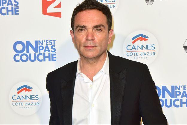 Yann Moix en mai 2017 à Cannes.