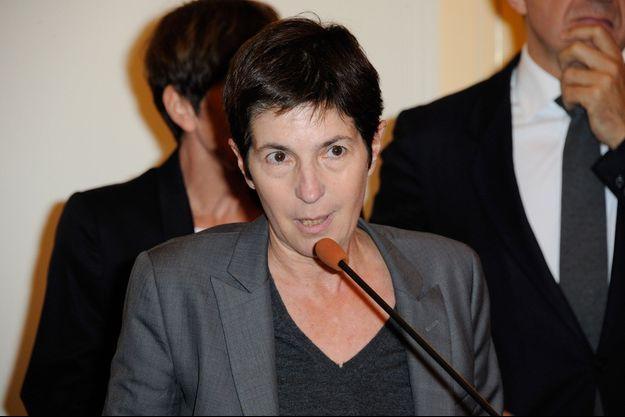 Christine Angot en 2015.