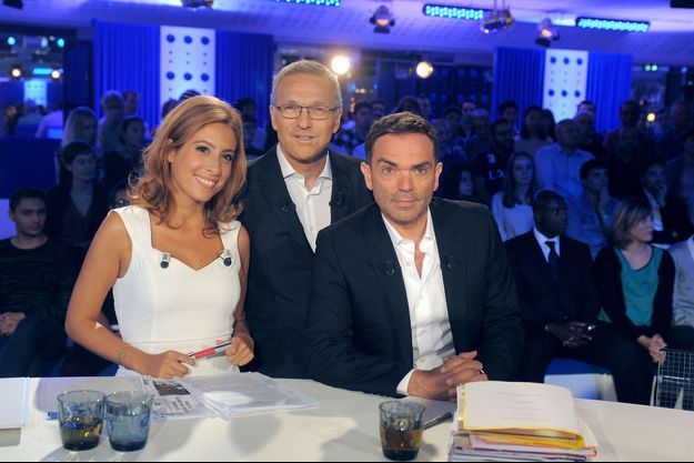 Léa Salamé, Laurent Ruquier et Yann Moix.