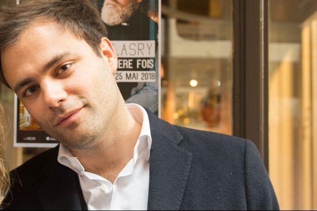 Charles Consigny lors de la remise du Prix Récamier 2018, à Paris.