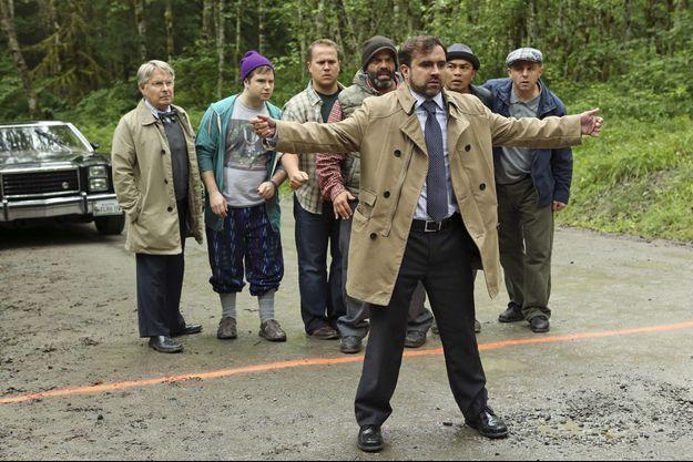 Gabe Kouth (au premier plan) dans la saison 2 de la série «Once Upon A Time»
