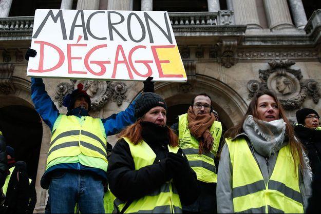 La photo de l'AFP retouchée par France 3.