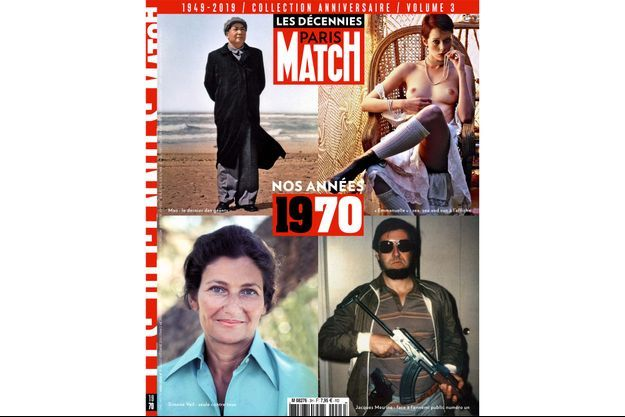 paris match retro 70