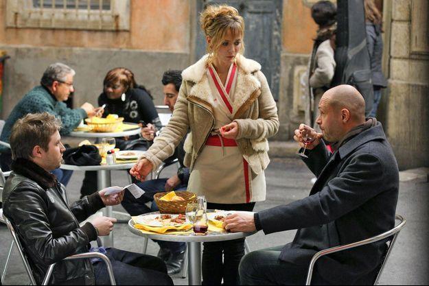 Thibaud Vaneck (Nathan), Celine Vitcoq (Wendy) et Virgile Bayle (Guillaume Leserman).