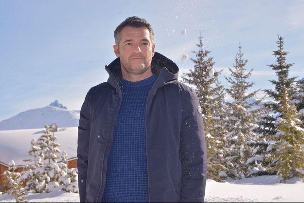 Arnaud Ducret au festival de l'Alpe d'Huez en janvier 2020.