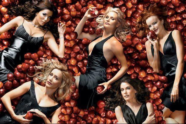 Eva Longoria, Nicollette Sheridan, Marcia Cross, Felicity Huffman et Teri Hatcher.