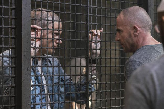 Wentworth Miller (Michael Scofield) et Dominic Purcell (Lincoln Burrows).