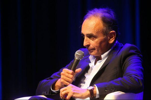 Eric Zemmour lors d'un débat à Perpignan, en septembre dernier.