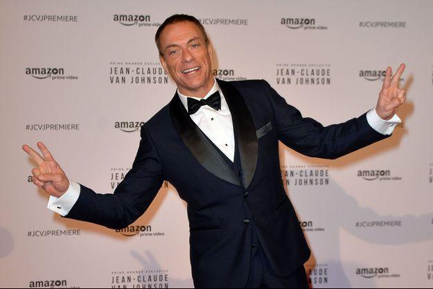 Jean-Claud Van Damme le 12 décembre 2017, à Paris.