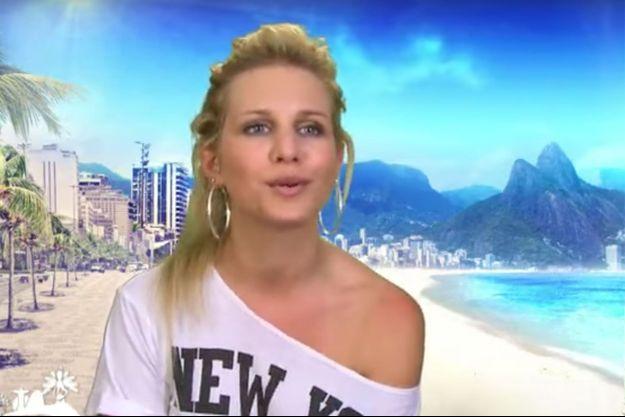 """Adixia dans """"Les Marseillais à Rio""""."""