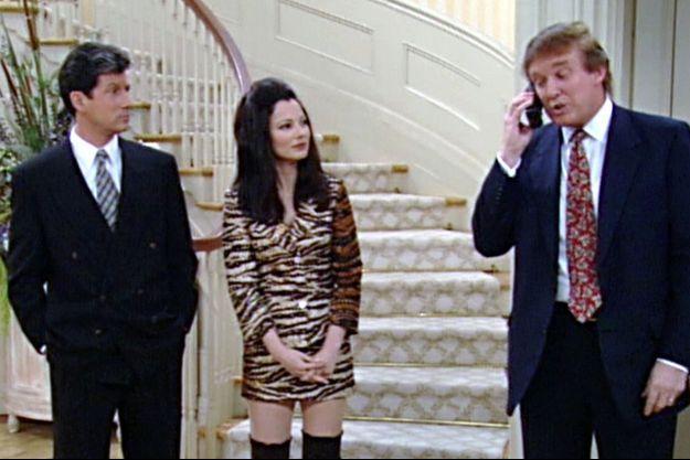 """Donald Trump est apparu dans """"Une nounou d'enfer"""" en 1996."""